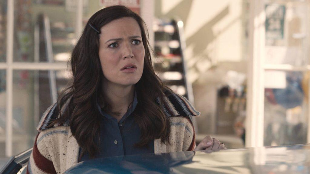 Mandy Moore como Rebecca Pearson en la temporada 5 del episodio 9