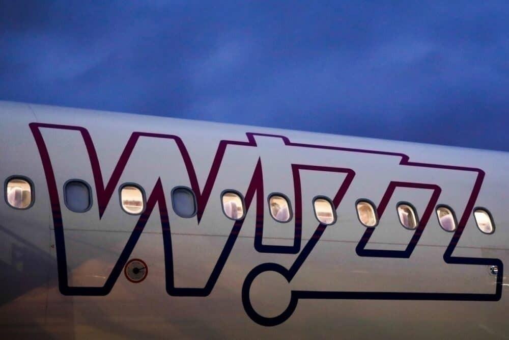 El logotipo de Wizz Air