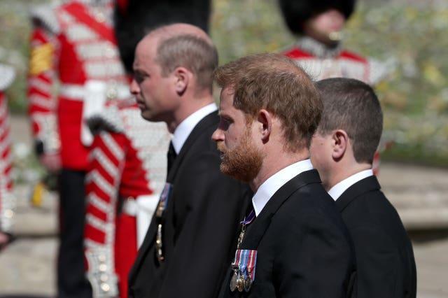 El funeral del duque de Edimburgo
