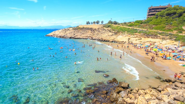 Año de playa español