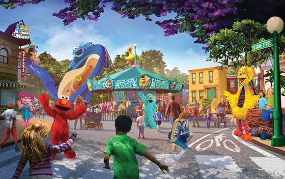 Sesame Place San Diego - IMAGEN A TRAVÉS DE SEAWORLD