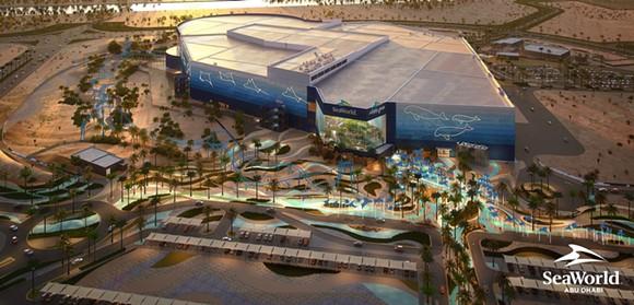 Espectáculo aéreo SeaWorld Abu Dhabi - Imagen a través de PRNEWSFOTO / MIRAL, Parques marinos y recreación