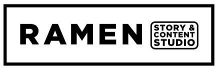 Logotipo de Ramen - Crédito: Cortesía de Ramen Story & amp;  estudio de contenido
